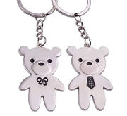Bear Couple Keychain