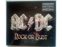 ac/dc rare 2 cd set of rock or bust new sealed