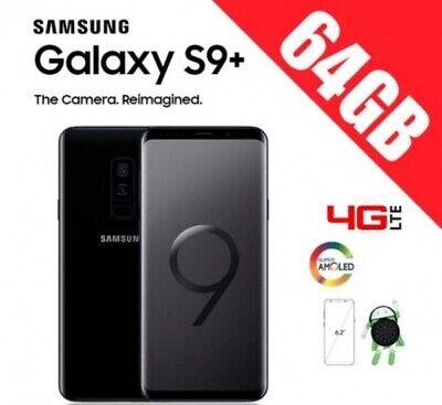 Samsung Galaxy S9+ PLUS G965 NEGRO LIBRE+ GARANTIA + CAJA + ACCESORIOS