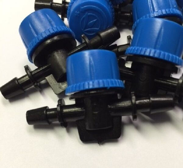 """5//8/"""" 16mm PURPLE Back Antelco Barbed Shut Off Valves HIGH QUALITY BAY HYDRO !!!!"""