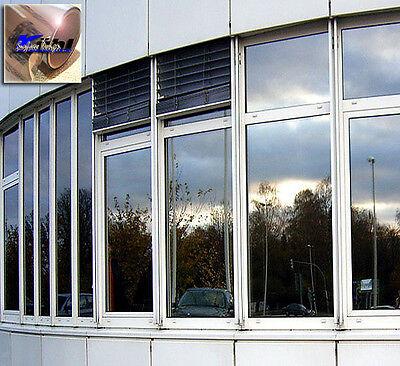Sonnenschutzfolie außen A-20 Silber Sichtschutzfolie Spiegelfolie Fensterfolie