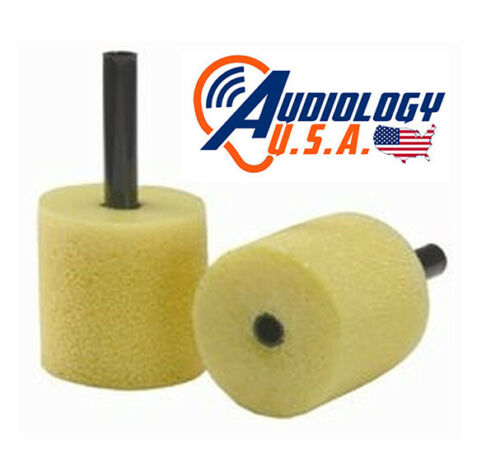 E-A-RLINK Foam Insert Eartips 3A Yellow Adult Size 13mm diameter for audiometer