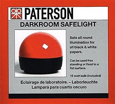 Paterson Photographic Darkroom Safelight :  PTP 760
