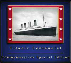 Arvel-Bird-RMS-Titanic-Centennial-Special-Edition-Music-Souvenir-CD-Belfast-New