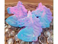 My unicorn bath bomb
