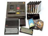 SINCLAIR ZX80 / 81 - I am looking for games, a console, and any accessories.