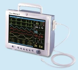 demeca oberver 9 patient monitor pat tested sept 16 callibrated