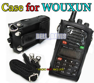 WOUXUN Original leather Case KG-UVD1 KG-689 KG-UVD1P