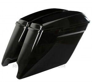 "14/15 HD HARLEY 4.5"" STRETCHED EXTENDED SADDLE BAGS SADDLEBAGS"