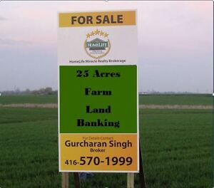 AGRICULTURE LAND, FARMING ACREAGES FOR SALE AROUND GTA