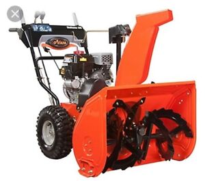 Snowblower Tuneup and Repairs
