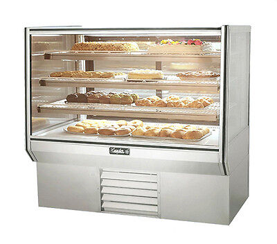 Leader Hbk48dry 48x34x53-inch Dry High Bakery Display Case Etl Listed