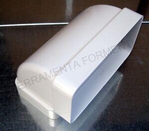 Curva verticale a 90 first per tubo per cappa for Curva vertical exterior 90