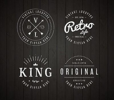 CUSTOM RETRO | VINTAGE LOGO DESIGN