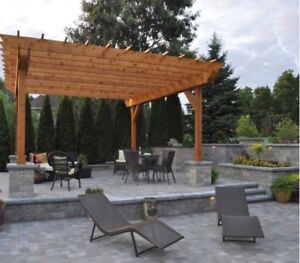 SHED PERGOLA GAZEBO  DECK POOL SHED PAVILION