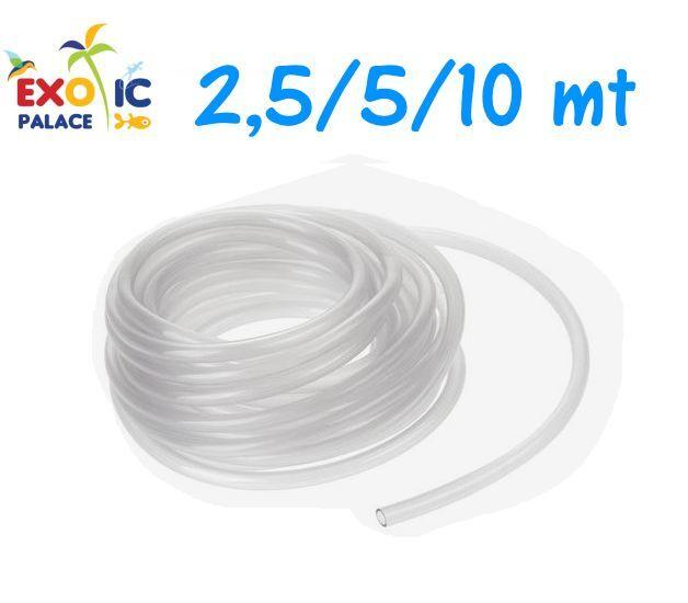TUBO SILICONE FLESSIBILE 4 mm AREATORE AERATORE OSSIGENATORE PER ACQUARIO POMPA