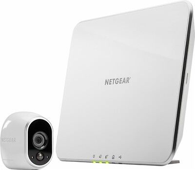 New Netgear Arlo Smart Home HD Wireless Security Camera System VMS3130-100NAS