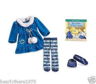 American Girl Bitty Twins Winter Wonder Dress   Brand NEW in Box