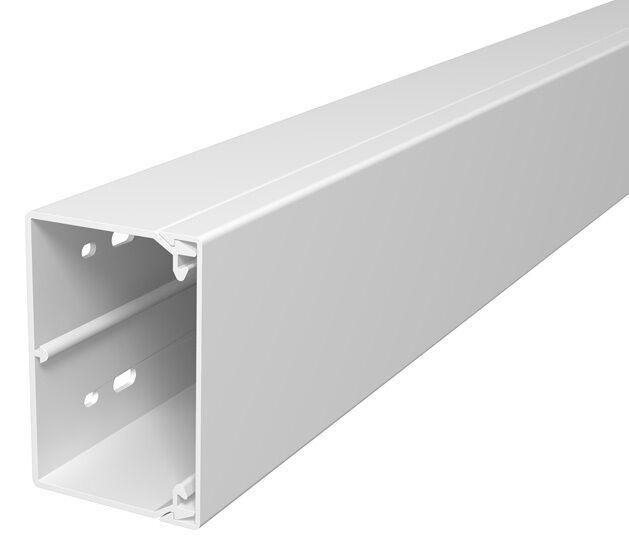 2m 5,50€/m OBO Bettermann Kabelkanal Kabelleiste PVC 60x90mm weiss WDK60090RW