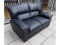 Silvia Leather Sofas Boxed