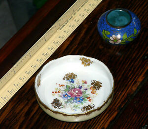 Birks small handpainted French mint dish or salt cellar Kingston Kingston Area image 6