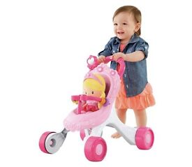 Wanted - fisher price princess stroll along walker