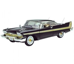 1958 PLYMOUTH FURY -1:18 SCALE DIECAST VEHICLE MODEL- MOTOR MAX AMERICAN CLASSIC