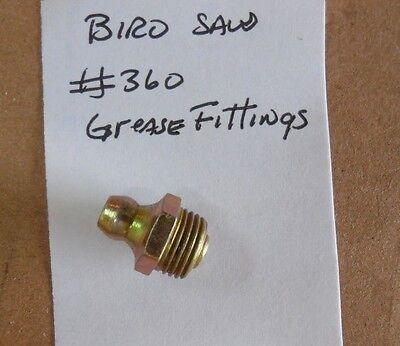 Grease Fitting Fits Slide Gibbs For Biro Saw 360 Models 11 22 33 34 1433 3334