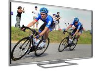 "60""sharp ethernet smart £300 ONO TV is guaranteed need quick sale."