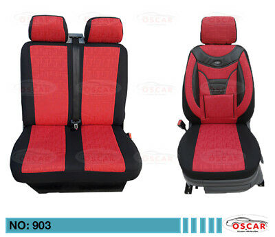 Schonbezüge Sitzbezug  Sitzbezüge  Renault Trafic Fahrer /& Beifahrer 903