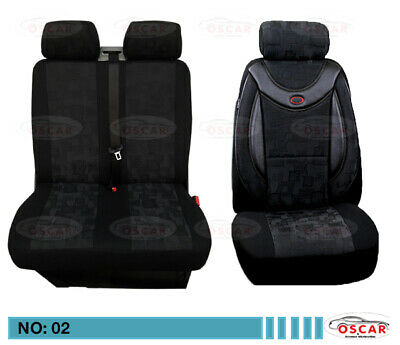 FORD Tourneo Courier Schonbezüge Sitzbezug Sitzbezüge 1+1 Kunstleder D104
