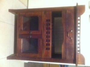 Timber Drinks Cabinet Side Table Buffet Keysborough Greater Dandenong Preview