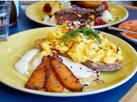 Demi Chef De Partie - brunch restaurant - daytime hours only - seasonal cooking