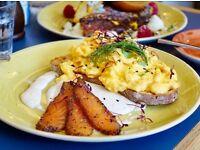 Demi Chef De Partie - brunch restaurant - daytime hours only - seasonal cooking
