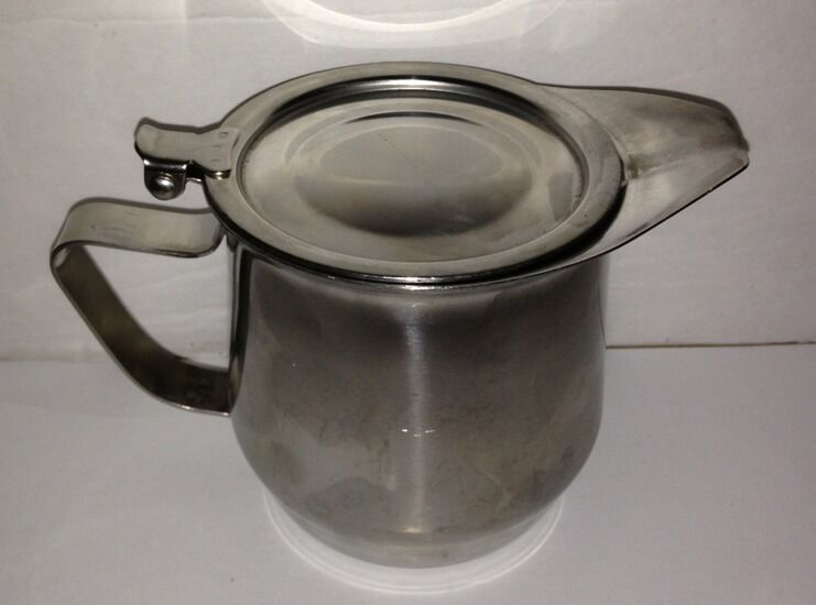 Vollrath Stainless Steel 18/8 Creamer Flip Cover made in Japan AB 46613