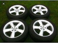 "Genuine 20"" Audi Q7 wheels/tyres refurbed!"