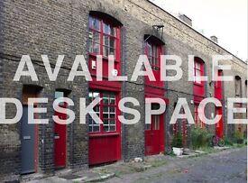 LARGE DESK SPACE in PULLENS YARD // KENNINGTON - ELEPHANT & CASTLE
