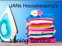JANs Housekeeping's Ironing Service