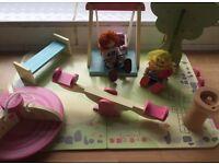 ELC rosebud playground set