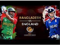 Bangladesh VS England Champions Trophy Game 1 Ticket for Sale