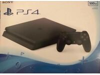 PS4 slim 500gb with warranty