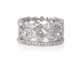 Stella & dot stackable rings