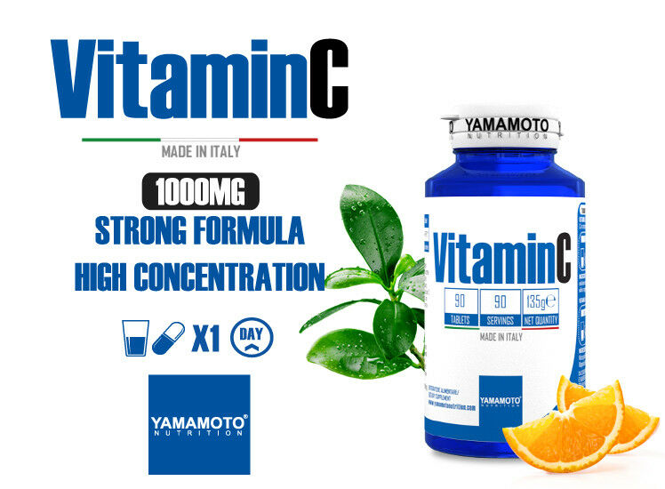 Yamamoto Nutrition Vitamina C 1000 mg 90 compresse