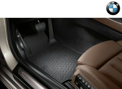 Fußmatten BMW 6 F12 F13 Coupe Cabrio 2011-2017 800g Velours Nubuk Rand