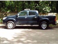 2013 Toyota Hilux 3,0 D-4D Invincible Crewcab Pickup 4dr 1 owner