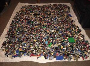 1000 + Lego Pieces Blocks Brick Parts Random Lot Educational Bulk Lbs lb pounds