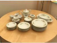 Swallow China dinner service and tea set
