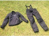 ARMR ladies motorcycle motorbike jacket and trousers