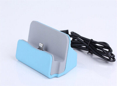 Docking Station Sync Charger Stand Cradle Desktop Charger for iPhone 6s Plus 6 5
