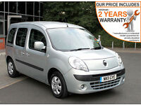 2011(11) RENAULT KANGOO 1.6 EXPRESSION LOW FLOOR WHEELCHAIR ACCESSIBLE VEHICLE